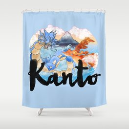 Kanto Shower Curtain