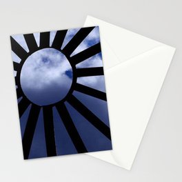 Angel Face thru dome by Aloha Kea Photography Stationery Cards