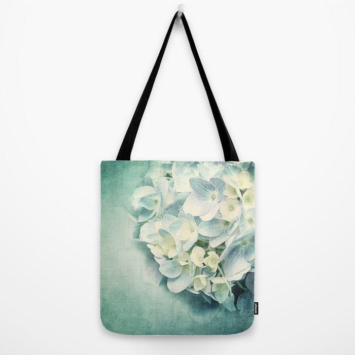 MINT HYDRANGEA Tote Bag