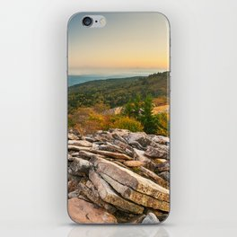 Spruce Knob Mountain Sunset iPhone Skin