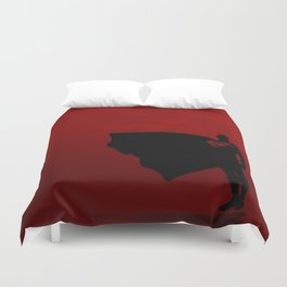super man Duvet Cover