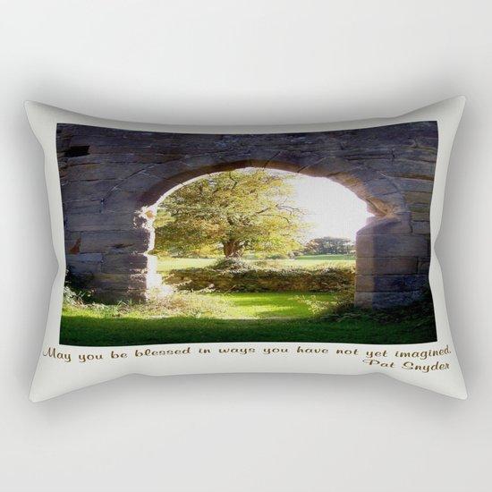 Unimagined Blessings Rectangular Pillow