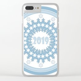 Christmas, new year Clear iPhone Case