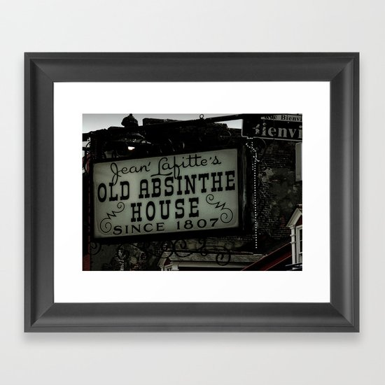 Old Absinthe House - NOLA Framed Art Print