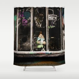 Gnomes in the Hood Shower Curtain
