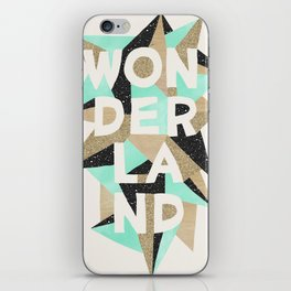 Wonderland iPhone Skin