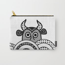the bull in the clouds Carry-All Pouch