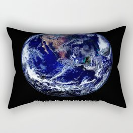 Earth Day 2018  - There Is No Planet B Rectangular Pillow