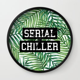 Serial Chiller Wall Clock