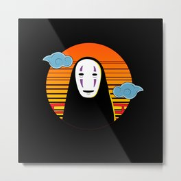 No Face a Lonely Spirit Metal Print