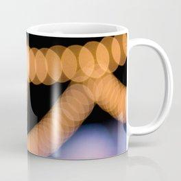 Bokeh Lights Over Ice Coffee Mug