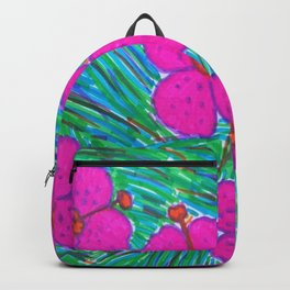 Hawaii Dreams Hibiscus Print Backpack
