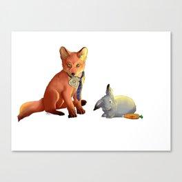 Zootropolis Canvas Print