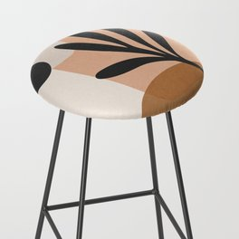 Minimal Abstract Art 11 Bar Stool