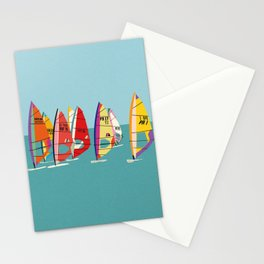 Baltic Sea Windsurfing Stationery Cards