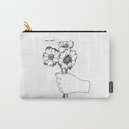 Poppy's whisper / Illustration Carry-All Pouch