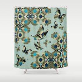 Marrakesh Butterflies Shower Curtain