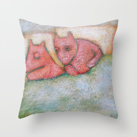 Are You Sleeping? Throw Pillow