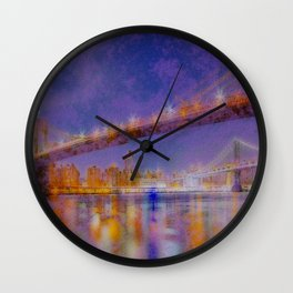 CITY INLET Wall Clock
