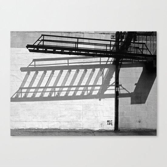 Not Art Canvas Print