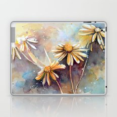 Purple Dream Garden, watercolor explorations Laptop & iPad Skin