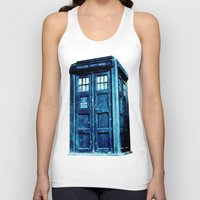 tardis Tank Tops featuring TARDIS by Hands in the Sky