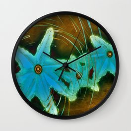 Spin on a Star Wall Clock