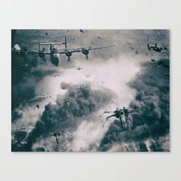 Bombers and Wings Canvas Print