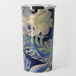 Vintage Mermaid Bermuda Travel Mug