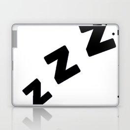 Zzzs in Black Laptop & iPad Skin