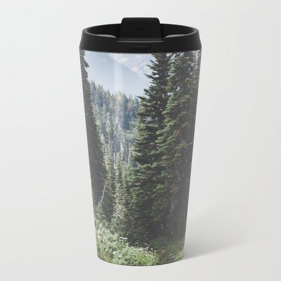 Through the Woods Metal Travel Mug