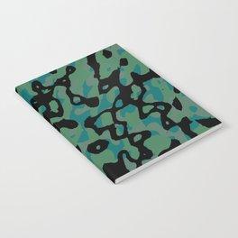 Spring Camo Notebook