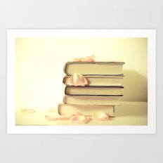 She Wrote Stories and Kept Them Quietly in Her Heart Art Print
