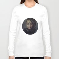 raven Long Sleeve T-shirts featuring Raven by Flo Tucci