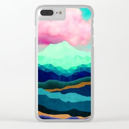 Nature Love Clear iPhone Case