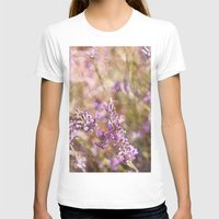 lavender T-shirts featuring Lavender by Tina Sieben