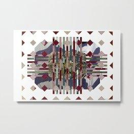 Flannel 02 Metal Print