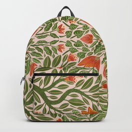 Folk Inspired Florals Backpack