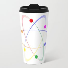 LGBT Whirling Atoms Travel Mug