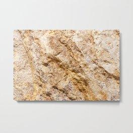 Limestone Textures 9 Metal Print
