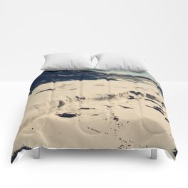 Sand Cliffs Comforters