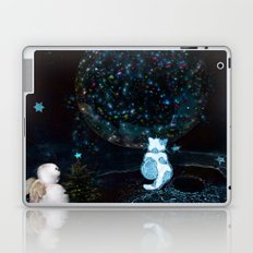 BLUE CHRISTMAS STARGAZERS ~ BACK WHERE MY HEART IS LONGING TO BE Laptop & iPad Skin
