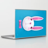 rabbit Laptop & iPad Skins featuring Rabbit by Lime