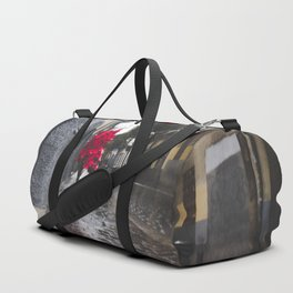 Christmas landscape Duffle Bag