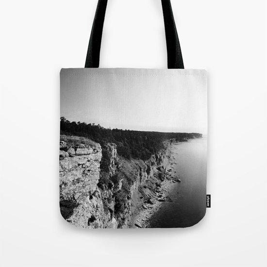 Where sea meets land Tote Bag