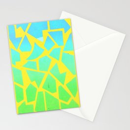 Psychedelic Giraffe Stationery Cards