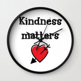 Kindness Teacher Gift Wall Clock