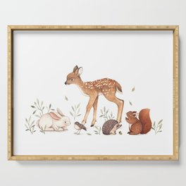 Woodland Friends Serving Tray