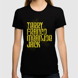 Terry Franco Mean Joe Jack / Black T-shirt