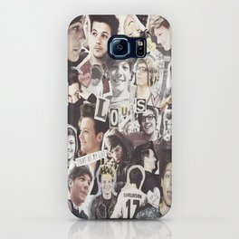 ONE DIRECTION LOUIS TOMLINSON - COLLAGE1 iPhone Case